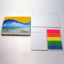 Custom Colorful Advertising Items Sticky Note Books