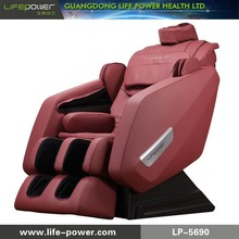 J shape Super long stroke Zero Gravity full body massage chair with Patent head massage design