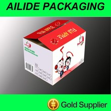 custom small cardboard box package for fruits vegetables gifts