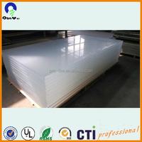 5mm transparent organic glass/pmma sheet/acrylic sheet