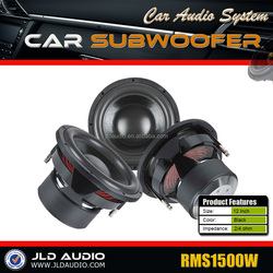 """JLD Aduio 12"""" Reasonable Price 1500W Car Subwoofer"""
