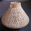string weaving lamp cover and shades for designer ceiling lights in dining room or retaurant