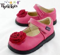 2015 HOT selling petal design baby girl autumn leather school shoe