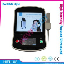 Commercial professional ultrasound portable hifu for skin tightening