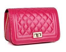 Fashion pu leather good quality elegance designer vintage women pu messenger bags