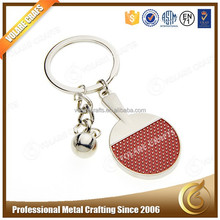 High Quality Free sample Promotional Metal Custom Keyring, Wholesale Trolley Coin Keyring