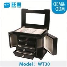 Hot sales New style classical Factory OEM jewelry packing box unfinished wood jewelry boxes