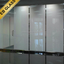 Self-developed switchable film ,Opaque treatment pdlc material window tint EB GLASS BRAND
