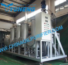 China YNZSY-LTY Waste Tire Oil Refining Control System Machine