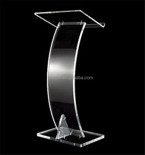 China manufacturer hot new products acrylic pulpit for wholesale