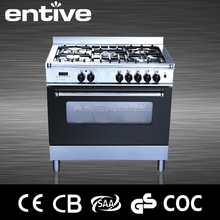 SAI gas and electric range with digital timer