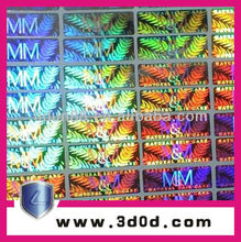 2012 hologram ,master hologram sticker in packaging & printing