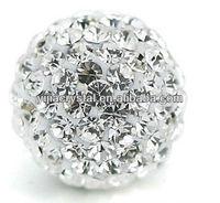 wholesale large Crystal Shamballa Beads
