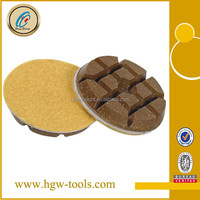 Floor polishing pad for marble floor cleaning
