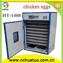 Brand new automatic chicken egg incubator hatching machine professional incubator for hatching eggs HT-1408 with great price