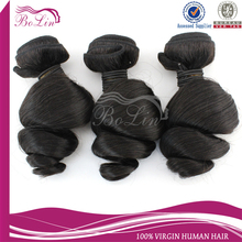 No Shed&Tangle Free Unprocessed Virgin Remy Wholesale Black Hair Products