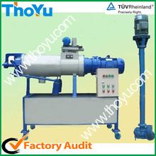 El estiércol de la máquina de deshidratación de agua