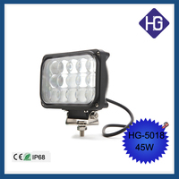 6.5 inch 45W Puri led driving light Offroad 4WD Truck Jeep work lamp replace Hid