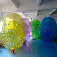 2015 hot pvc inflatable land zorb ball,inflatable zorb ball