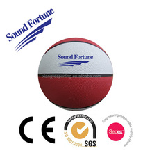 Promotional natural rubber basketball in 2015