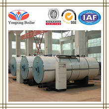 Industrial 0.5-20t/h wns best gas oil boiler 500kg hot water per hour