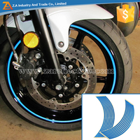 Motorcycle/Car/bike Sticker Decal Reflective Decorative Self Adhesive Wheel Rim Stickers