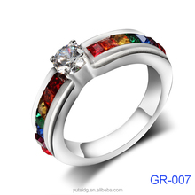 2016 moroccan silver couple gay men rings jewelry