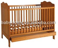 australia standard baby cribs Baby wooden cot cribs baby bed / CE standard/ item H0684