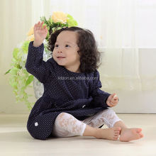 Fashion wholesale baby products girls silk stockings with lace cropped trousers OEM socks manufacturers
