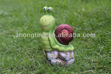 Ceramic Snail Saving Box
