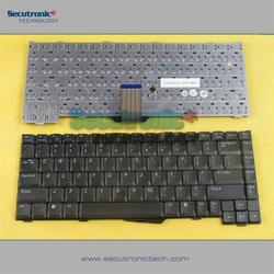 Hot sale Silicone laptop keyboard for Dell Inspiron 1200 2000 2100 2200 Latitude 110L L400 LS US black