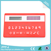 Promotional 3MM Plastic Desktop Super Thin Calculator