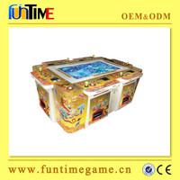 indoor paper money accept Arcade Catching Fish Game Machine Dragon Fish Game