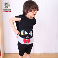 Boys clothing 2012 black cat lovely cosplay kids clothing suppliers
