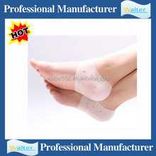 Silicon foot cushion for shoes lady high heel protector to relieve foot pain transparent forefoot gel insole