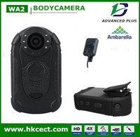A2 chipset, Police video body worn camera police wearable camera, professional customerize body wearable camera