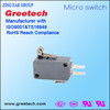 High sensitivity short lever roller plunger snap switch ,basic micro switch
