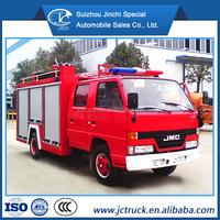 size of fire truck/pumps for fire truckJMC 4x2 3000L Water Tank Fire Fighting Truck