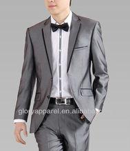 Men's formal wool business suits