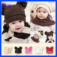 2015 hot sale Fashion Unisex Baby child Wool hat factory price