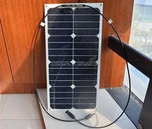 portable PV flexible Sun power solar panel for RV