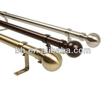 round ball finial antique brass curtain rods, decorative finials curtain rods, decorative tension curtain rods