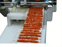 Almôndega de corda que faz a máquina/espeto de carne máquina satay espeto máquina