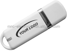 Hot Selling Class white USB Flash Drive, Plastic USB2.0,lighter USB Pendrive 4GB 8GB optional capacity