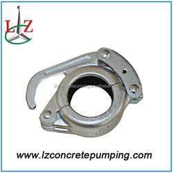Snap clamp coupling manufacturer of concrete pump