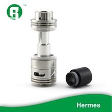 2015 Innovation sub ohm Hermes tank big vape pen e cig tank 0.2ohm 0.5ohm for vape mod 10w -50w e ciga