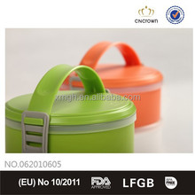 Portable Bento Box with FDA Certification, BPA Free and Cutlery Set with Detailed Handle