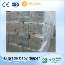 Whole sale stock lot cloth like baby diaper in ton