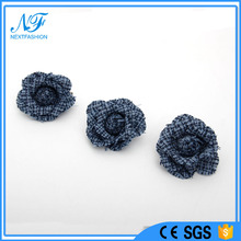 New Fashion Design SS16 Famous Shows Fashion Trends Hot Checkered Flower Brooches/ Pins for Garments