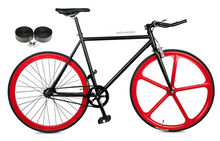 700c full carbon magnesium alloy front wheel single speed fixed gear bicycle professional Manufacturer